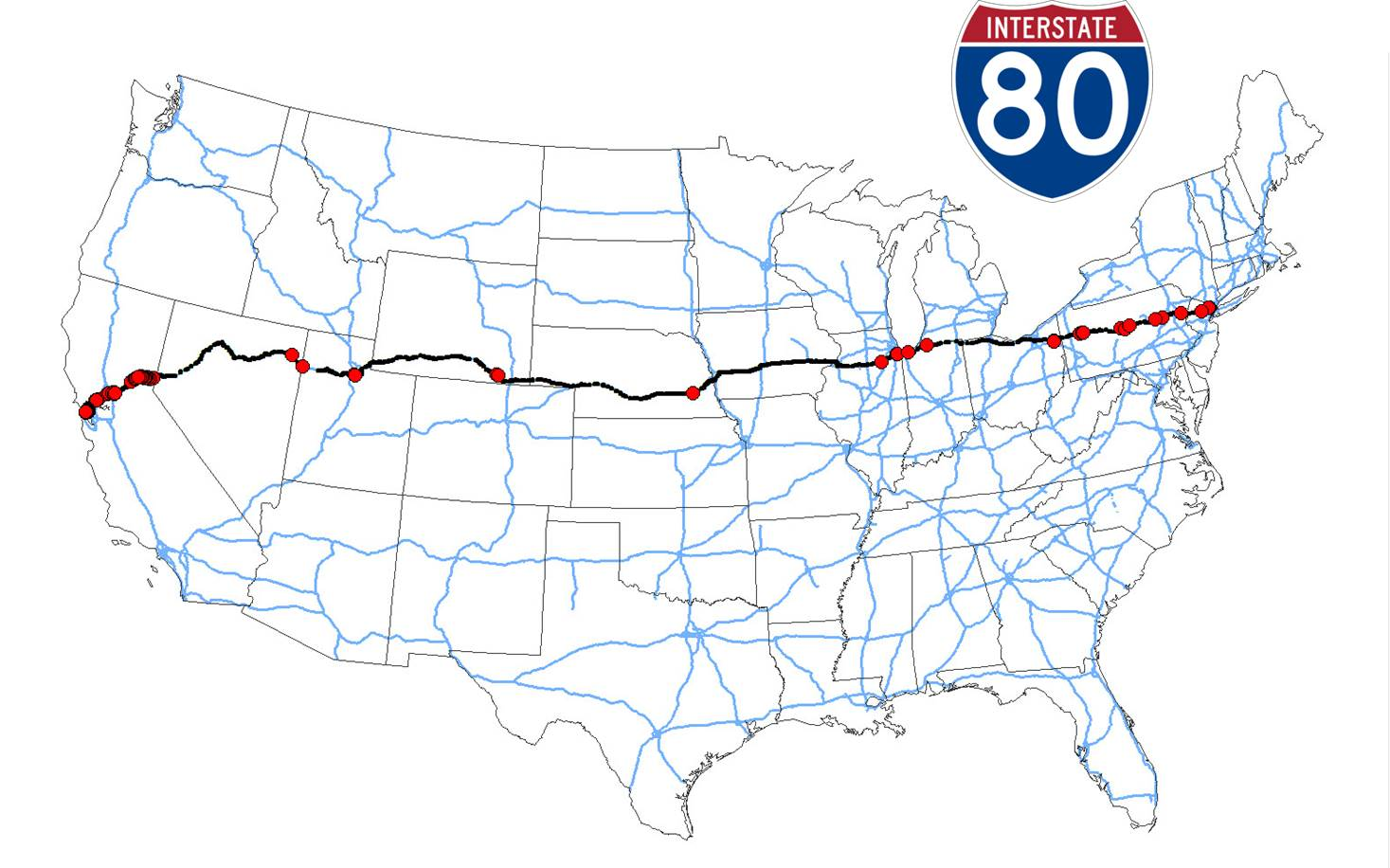 Figure 6 coast to coast i 80